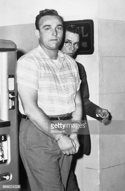 Aaron Wagman of New York, shown in this September 1960 file photo, was arrested in New York, March 17, on charges of offering a bribe to an...
