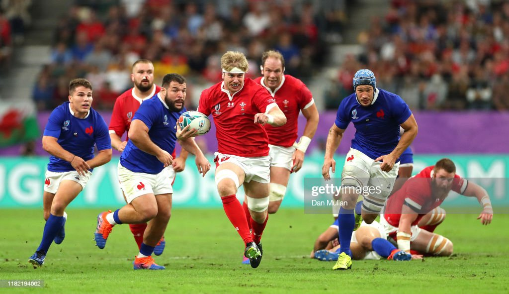 Wales v France - Rugby World Cup 2019: Quarter Final : News Photo