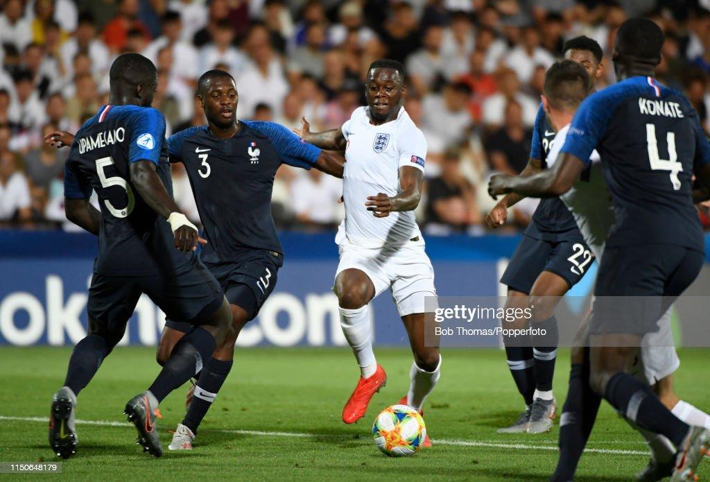 England v France: Group C - 2019 UEFA U-21 Championship : News Photo