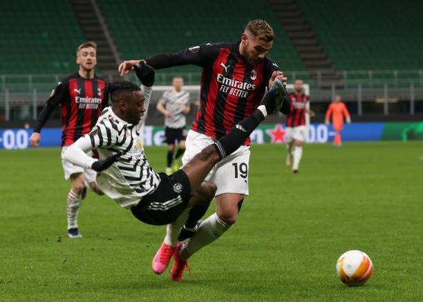 ITA: AC Milan v Manchester United - UEFA Europa League Round Of 16 Leg Two