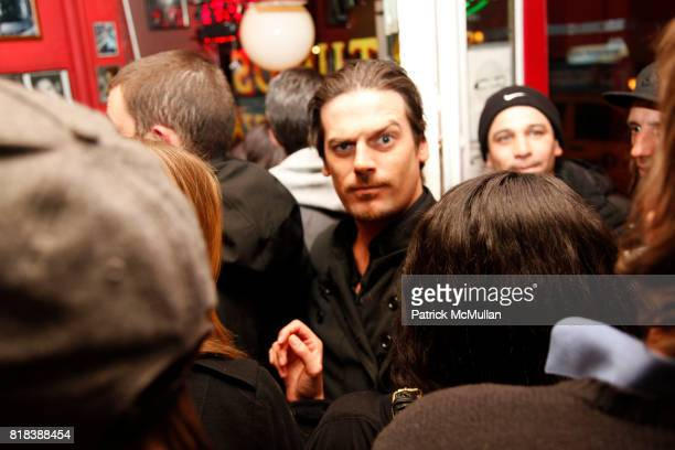 Aaron Ward attend Launch of ANTHONY PAPPALARDO'S First Signature Shoe for RED at Arturo's Coal Oven Pizza on February 16th 2010 in New York City