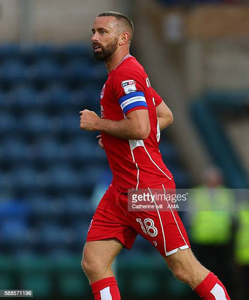 Aaron Wilbraham of Bristol City during the EFL Cup match between Wycombe Wanderers and Bristol City at Adams Park on August 8 2016 in High Wycombe...