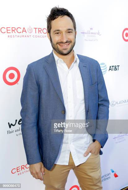 Aaron Wolf attends the HollyRod 20th Annual DesignCare at Cross Creek Farm on July 14 2018 in Malibu California