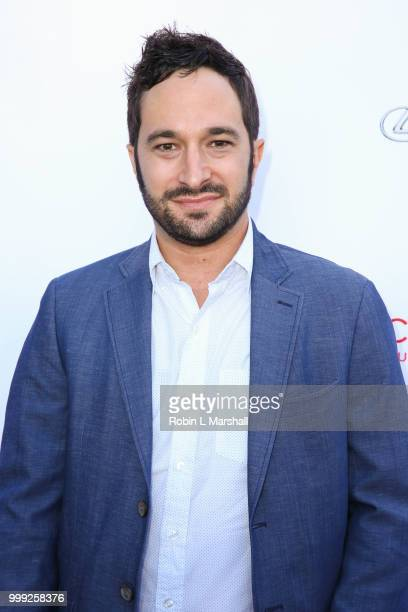 Aaron Wolf attends The HollyRod Foundation's 20th Annual DesignCare Gala at Private Residence on July 14 2018 in Malibu California