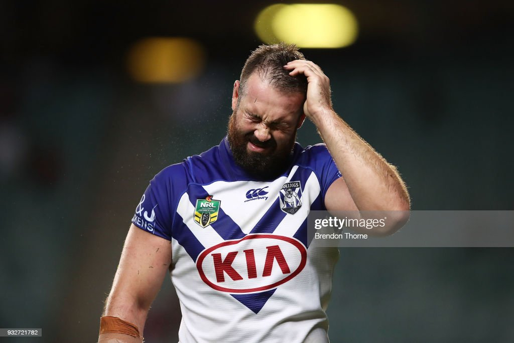 NRL Rd 2 - Roosters v Bulldogs : News Photo