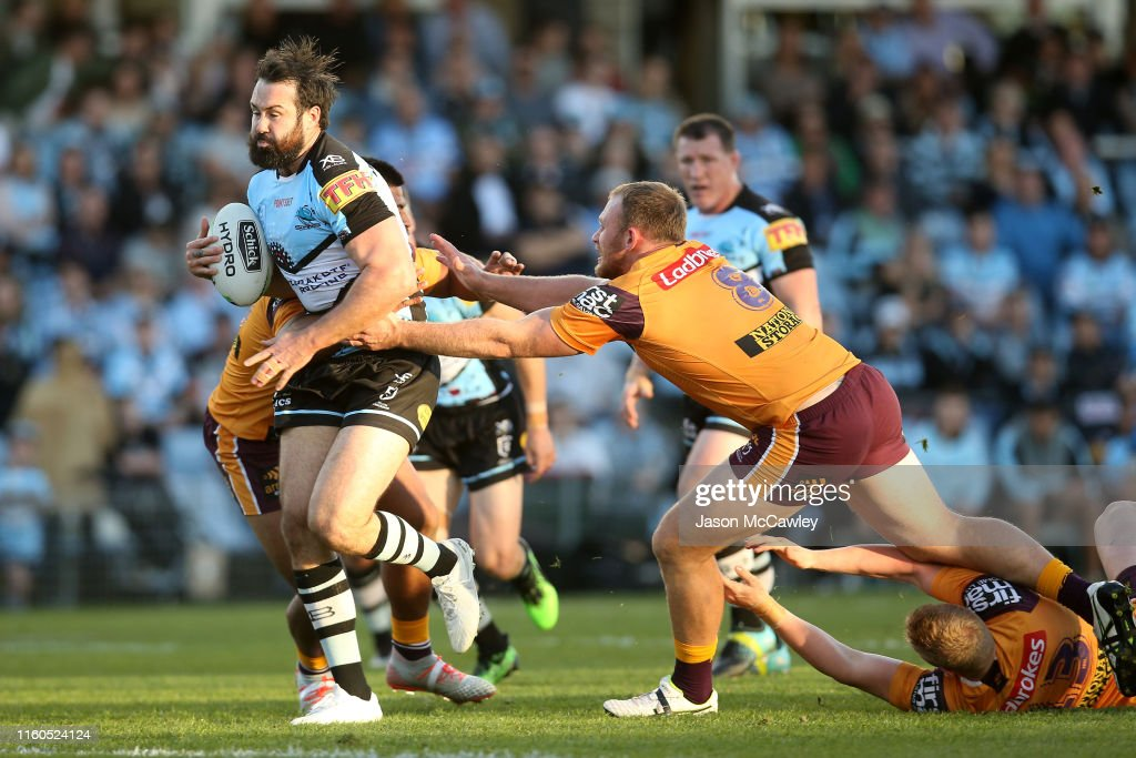 NRL Rd 16 - Sharks v Broncos : News Photo
