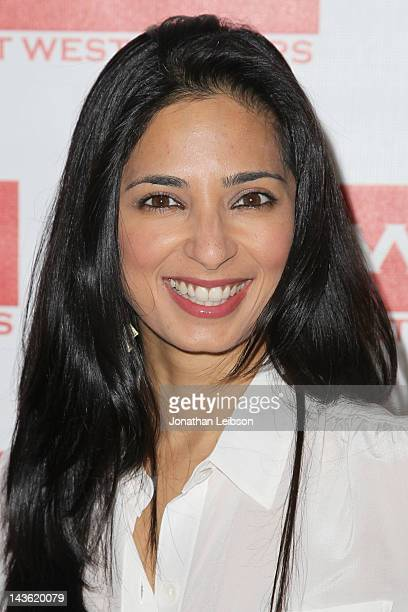 Aarti Mann arrives to the East West Players 46th Anniversary Visionary Awards Fundraising Dinner Silent Auction at Universal Hilton Hotel on April 30...
