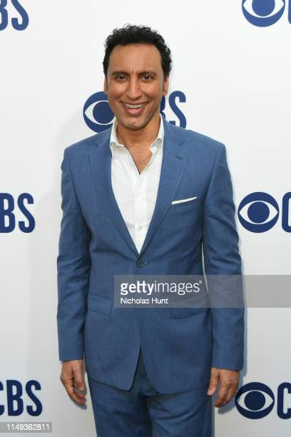 Aasif Mandv attends the 2019 CBS Upfront at The Plaza on May 15 2019 in New York City