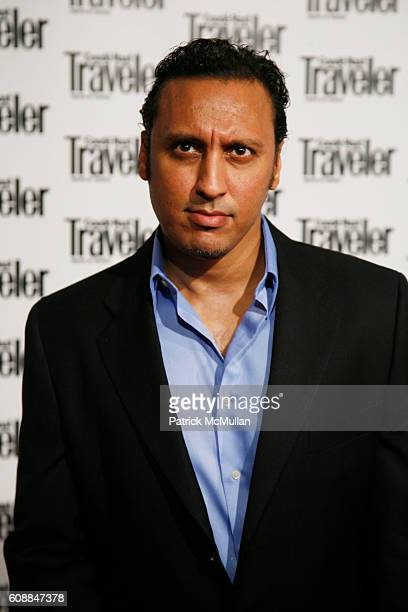 Aasif Mandvi attends CONDE NAST TRAVELER Readers' Choice Awards & 20TH Anniversary Party at Cooper-Hewitt National Design Museum on October 10, 2007...