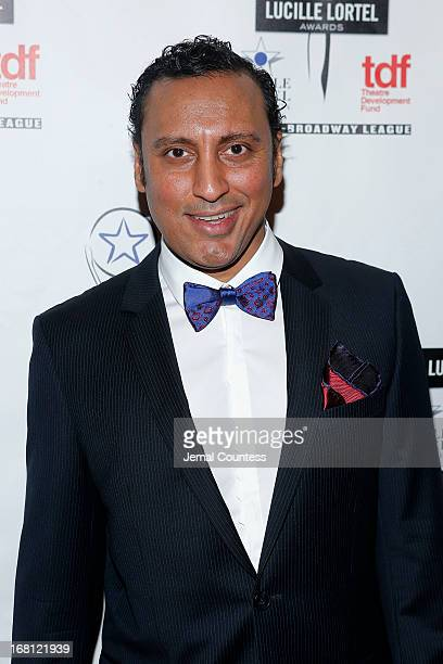 Aasif Mandvi attends the 28th Annual Lucille Lortel Awards on May 5 2013 in New York City