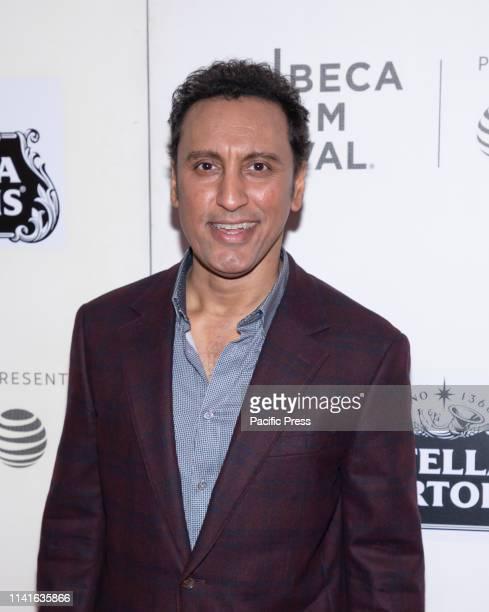 Aasif Mandvi attends Yesterday Closing Night Gala Film during 2019 Tribeca Film Festival at The Stella Artois Theatre Manhattan