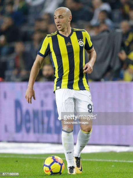 Aatif Chahechouhe of Fenerbahce during the Turkish Super lig match between Fenerbahce v Sivasspor at the Sukru Saracoglustadion on November 19 2017...
