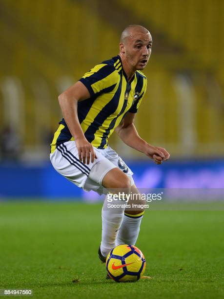 Aatif Chahechouhe of Fenerbahce during the Turkish Super lig match between Fenerbahce v Kasmpasaspor at the #350ükrü Saraco#287lu stadion on December...