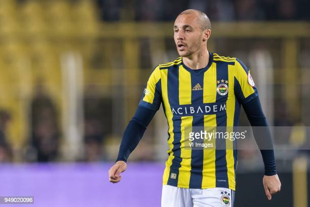 Aatif Chahechouhe of Fenerbahce SK during the Ziraat Turkish Cup match Fenerbahce AS and Besiktas AS at the Sukru Saracoglu Stadium on April 19 2018...