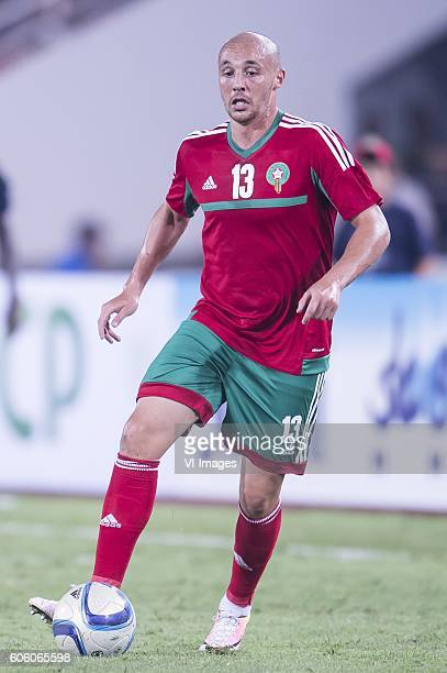 Aatif Chahechouhe of Morocco during the Africa Cup of Nations match between Morocco and Sao Tome E Principe at September 4 2016 at the Complexe...