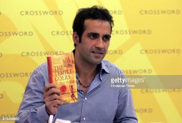 Aatish Taseer take his book launch 'The Temple Goers' in Mumbai