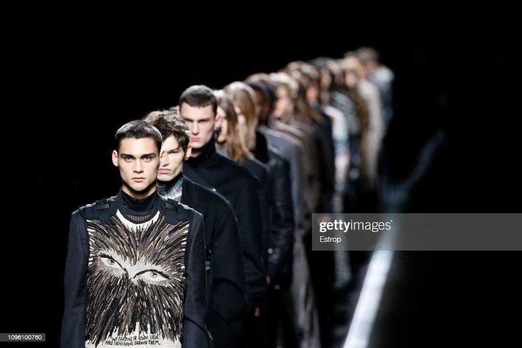 Dior Homme : Runway - Paris Fashion Week - Menswear F/W 2019-2020 : ニュース写真