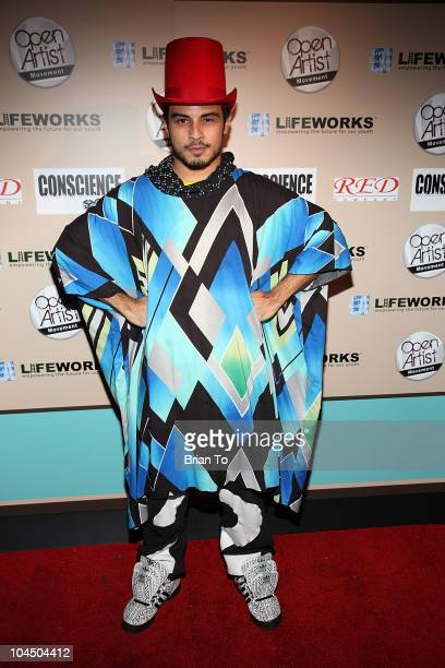 Ab Soto attends We Are Golden benefit concert at Arena Nightclub on September 27 2010 in Hollywood California