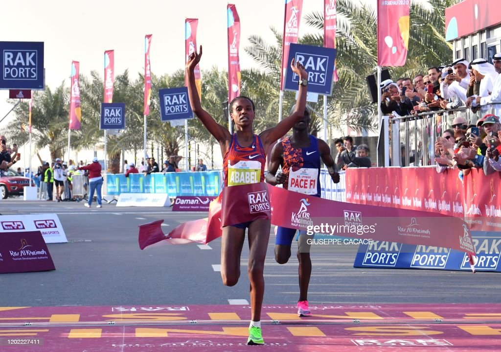 MARATHON-UAE-WORLD-RECORD : News Photo