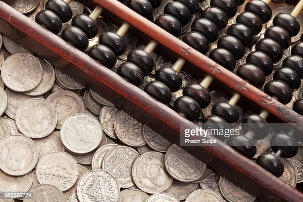Abacus on money