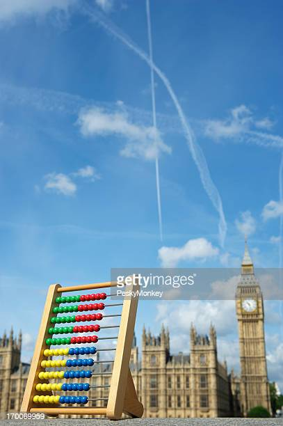 Abacus Stands London Skyline Westminster Palace