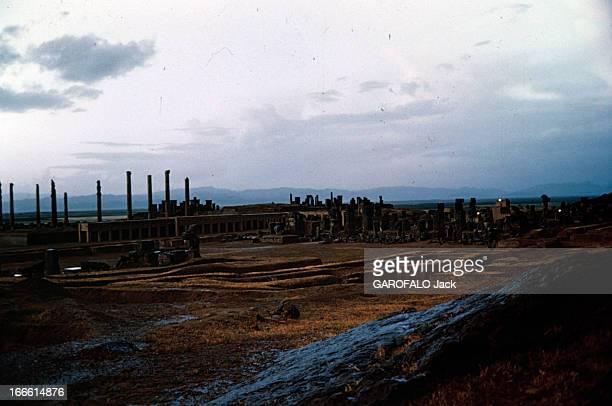 Abadan Refinery In Iran En Iran vue générale des vestiges de la cité antique de Persépolis