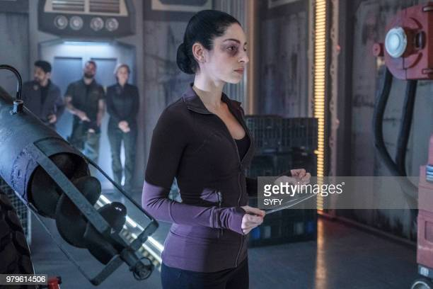 THE EXPANSE 'Abaddon's Gate' Episode 313 Pictured Anna Hopkins as Monica Stuart