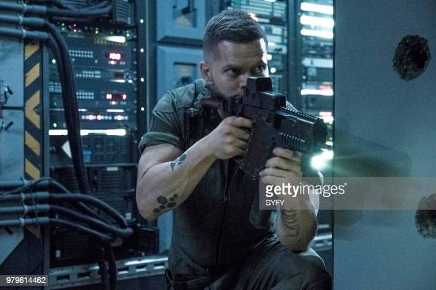 """Abaddon's Gate"""" Episode 313 -- Pictured: Wes Chatham as Amos Burton --"""