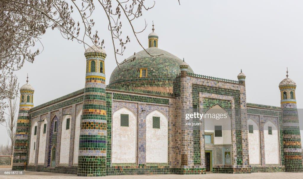 Abakh Hoja Mausoleum,Xinjiang,China : Stock Photo