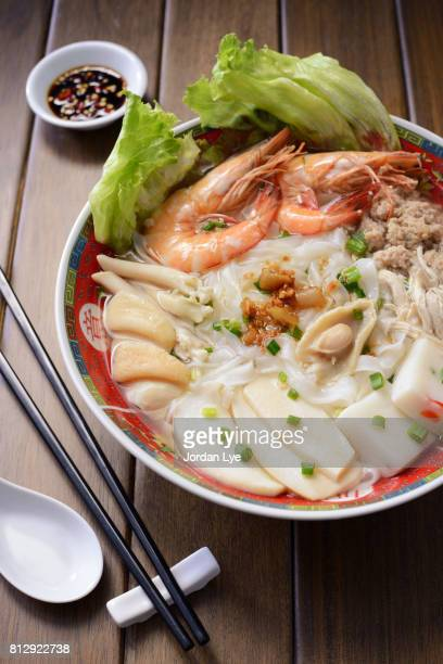 Abalone Koay Teow Soup
