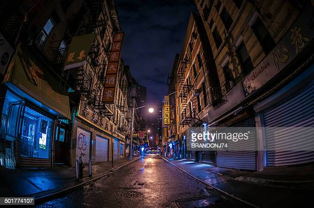 abandoned alley in chinatown - abandoned stock pictures, royalty-free photos & images