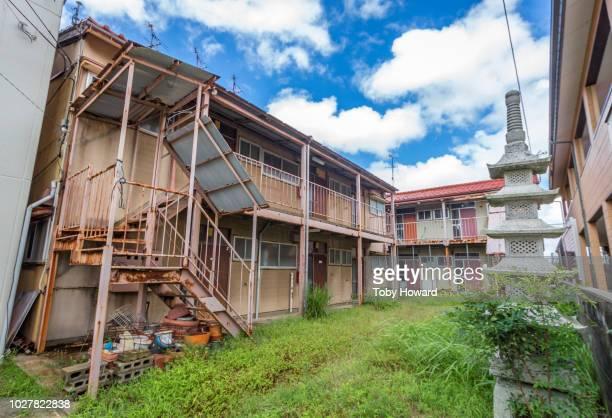 Abandoned apartments, Kanazawa, Japan
