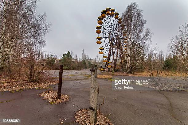Abandoned attraction in the Chernobyl zone,Pripyat