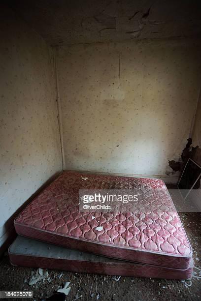 Abandoned bedroom.
