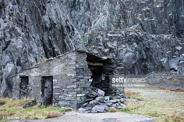 Abandoned building at Dinorwig quarry