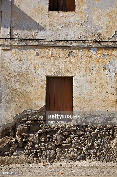 abandoned building in monchique, in the algarve, near portimao, portugal  - monchique stock pictures, royalty-free photos & images