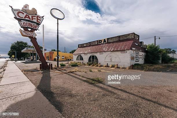 Abandoned Cafe on Route 66, USA