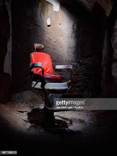 Abandoned Chair At Eastern State Penitentiary