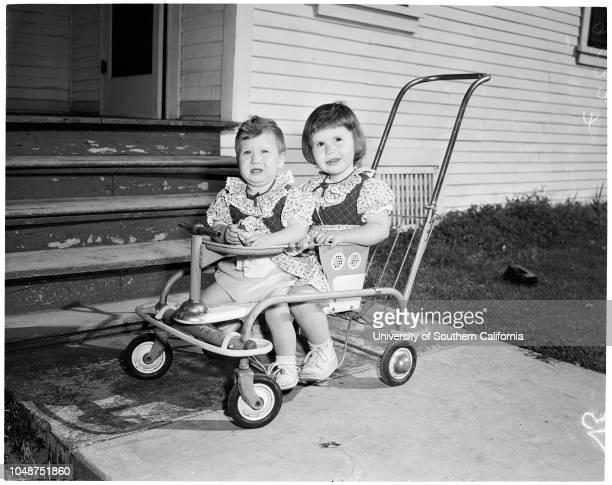Abandoned children 12 February 1953 Gilda Sailor 11 monthsLinda Sailor 23 monthsLeft at home of Mrs Laura Aschenbrenner at 656 South Hoefner Avenue...