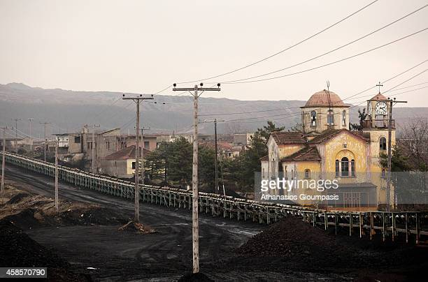 Abandoned church dedicated to the Virgin Mary in Haravgi village is the only building accepts people and Easter operated on January 21 2011 in...
