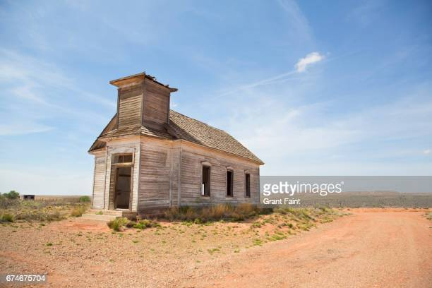 abandoned church. - lubbock stock pictures, royalty-free photos & images