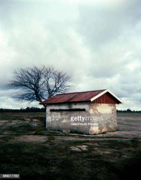 Abandoned Concrete Shack