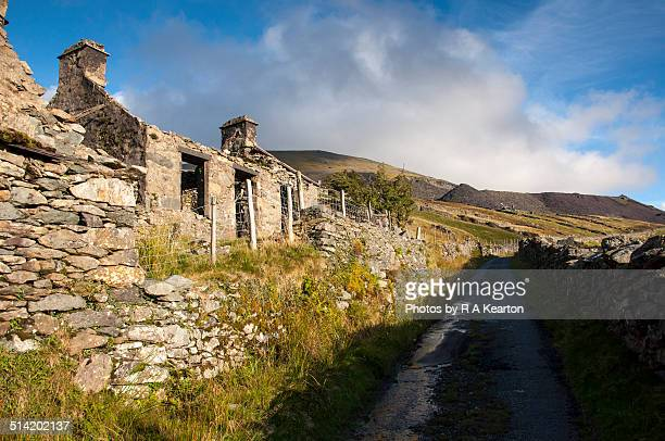 Abandoned cottage, Dinorwig, Wales