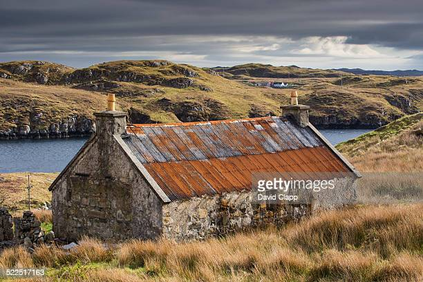 Abandoned croft, Scalpey, Isle of Harris, Scotland