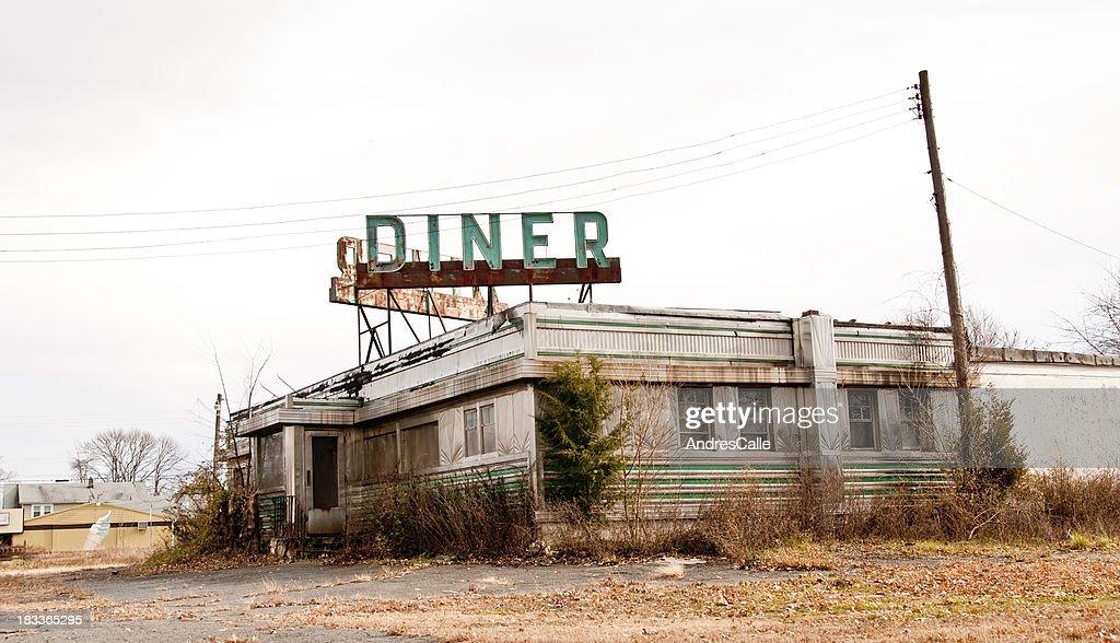 Verlassenen Diner : Stock-Foto