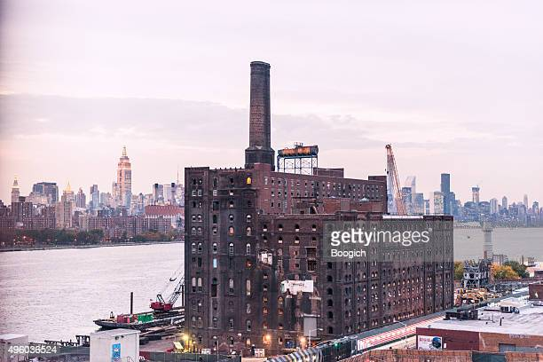 Abandoned Domino Sugar Factory Urban NYC Landmark Architecture Gentrification
