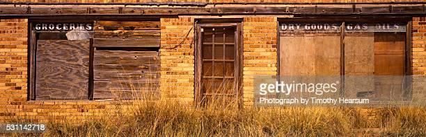 abandoned dry goods store - timothy hearsum bildbanksfoton och bilder
