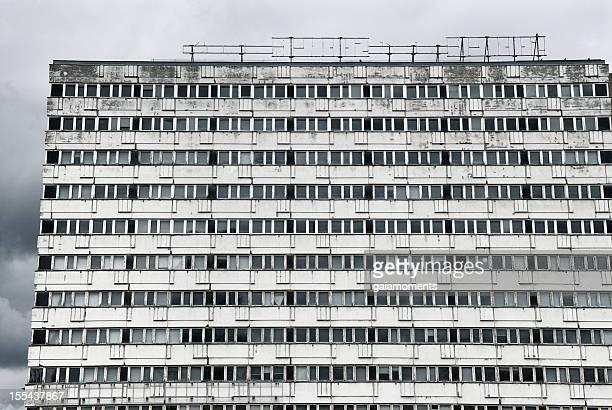 Verlassenen East Berlin-Gebäude