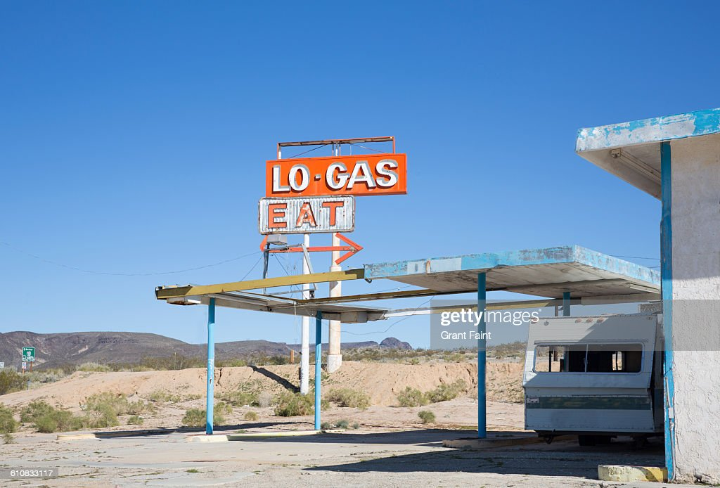 Abandoned Gas Station Foto De Stock Getty Images