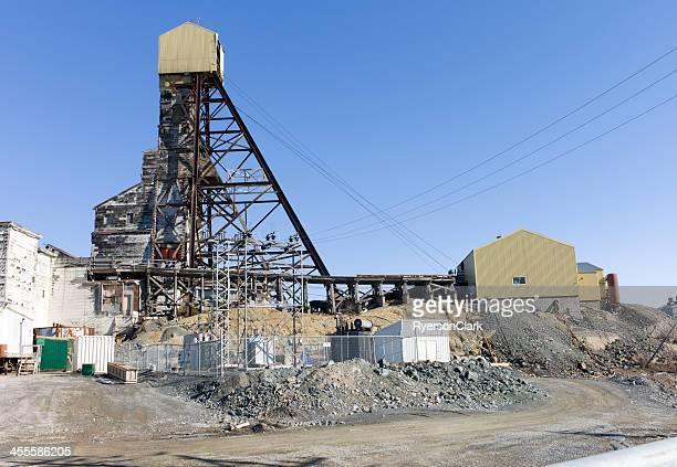 Abandoned Gold Mine, Yellowknife, Northwest Territories.
